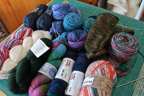 January 1 -- 12 Pairs of Socks