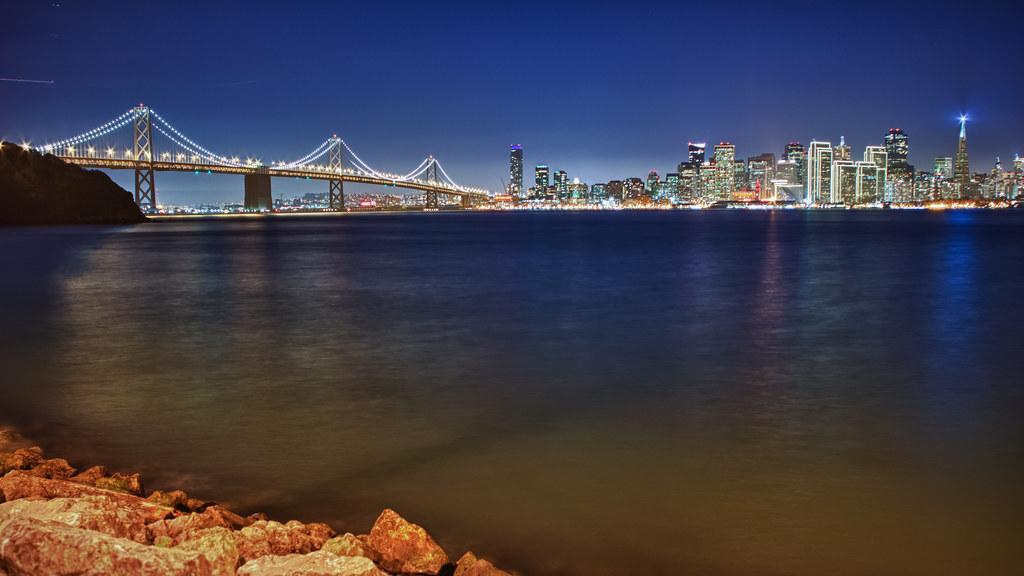 Bay Bridge from Treasure Island