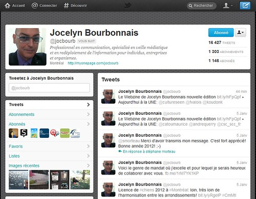 """""""Mon fil Twitter @jocbourb"""""""