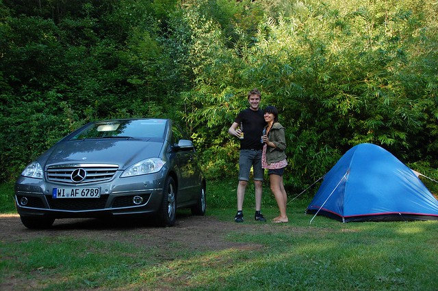 Black Forest camping