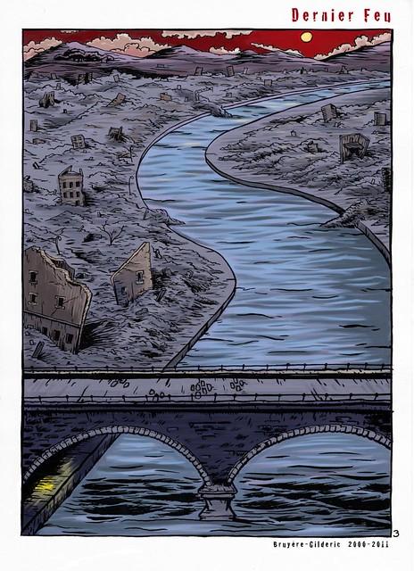 Dernier feu (Last Fire) 3 - BD apocalyptique de Gilderic et J. Bruyère