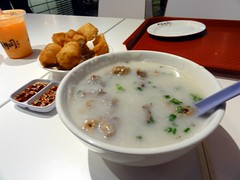 Pork Porridge at Lot 10 Hutong