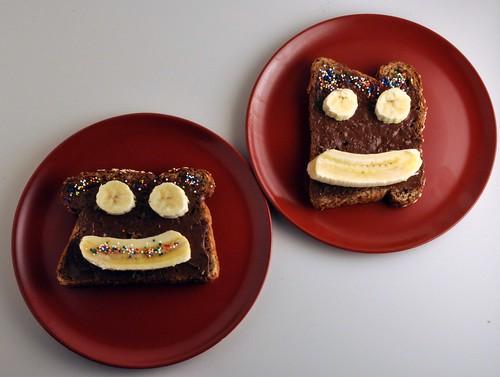Meine Dick und Doof Toasts