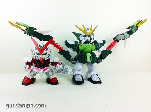 SD Gundam Online Capsule Fighter ALTRON Toy Figure Unboxing Review (16)