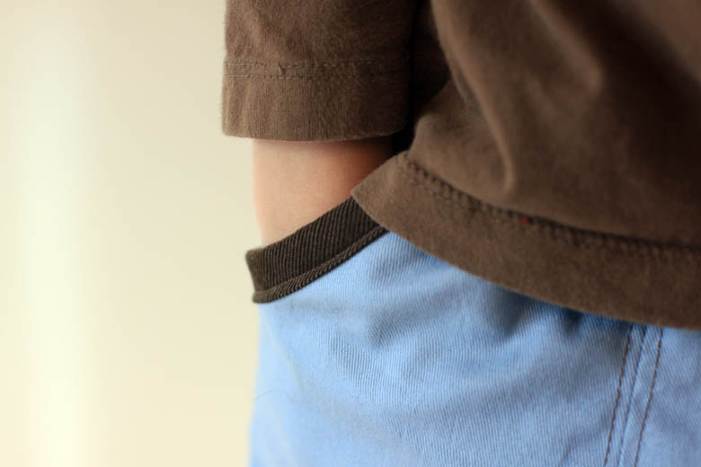 basic pocket pants