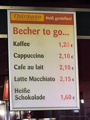 Becher to go