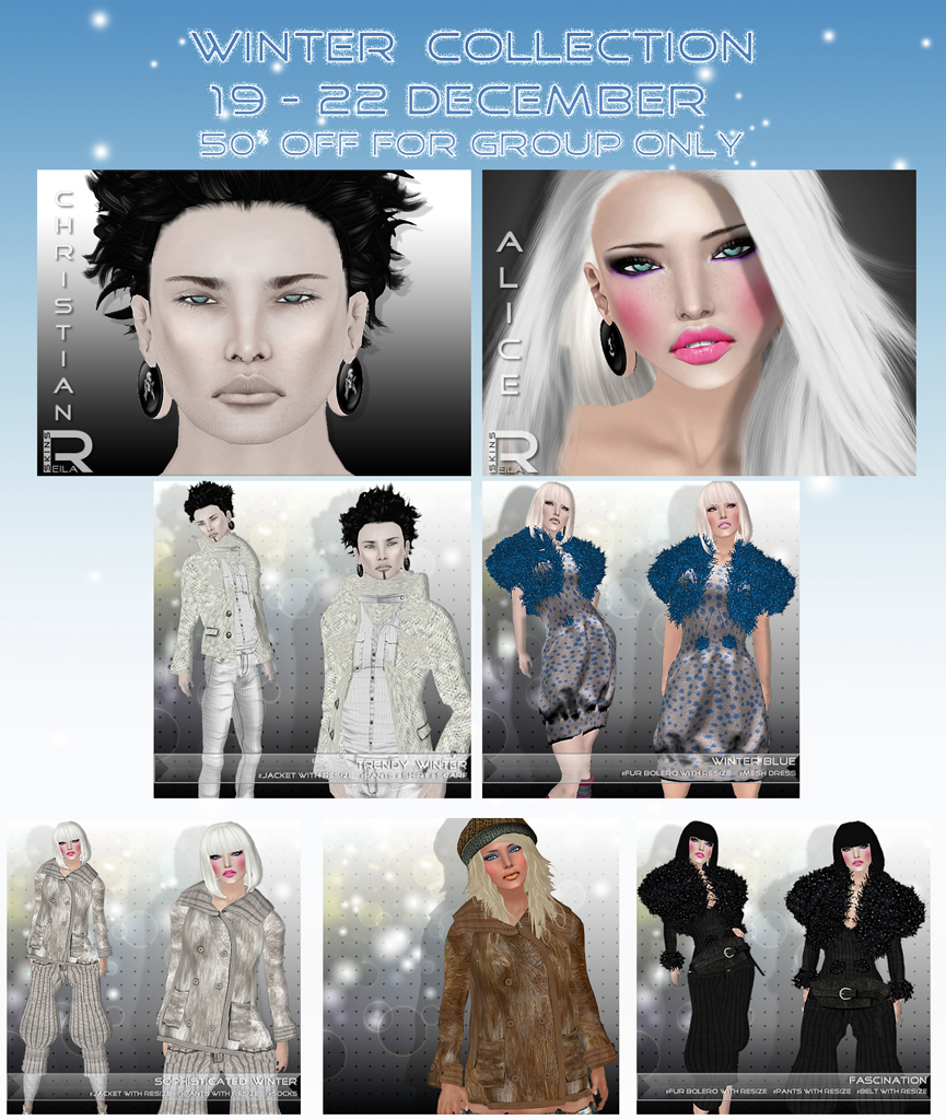 Reila Skins - Winter Collection poster