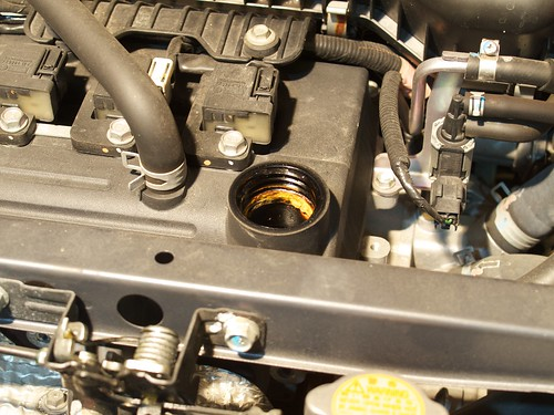Subaru R1 Replacing Engine Oil and Oil Filter