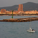 Leaving Livorno, Italy