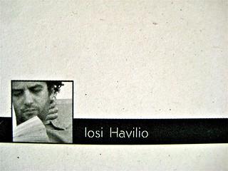 Opendoor, di Iosi Havilio, caravan edizioni 2011; progetto grafico di Flavio Dionisi, ill. di cop. ©DorianGray. risvolto della q. di copertina (part.), 1