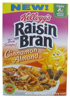 Kellogg's Cinnamon Almond Raisin Bran