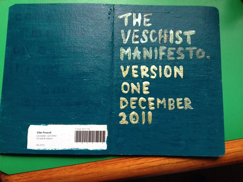 Sketchbook project 2012 by Princess Bala Vera
