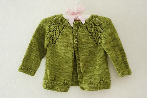 Maile baby sweater