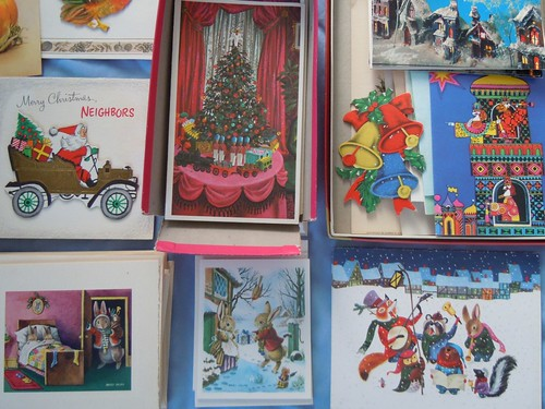 Deadstock holiday cards, detail