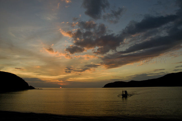 Sunset In Nagsasa Cove Wide