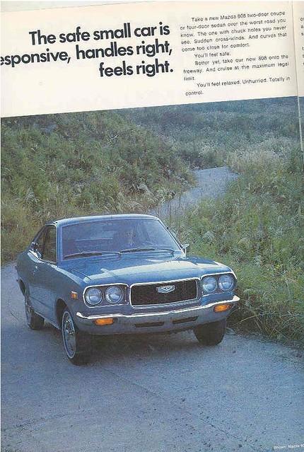 1972 Mazda 808 Brochure 2