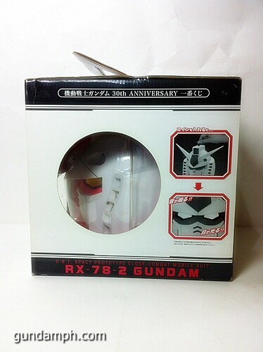 BIG RX-78-2 Gundam Head Coin Bank 30th Anniversary Edition 7-11 (2)