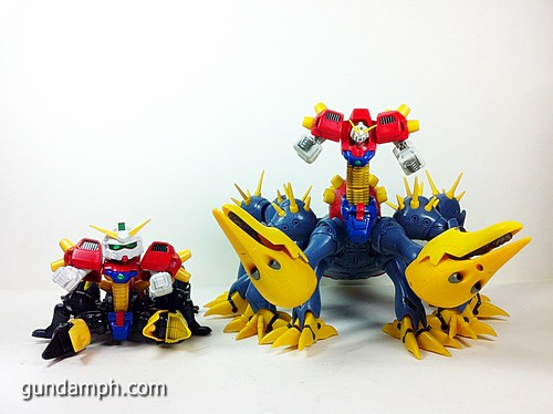 MSIA Devil Gundam First Form Unboxing Review Huge (86)
