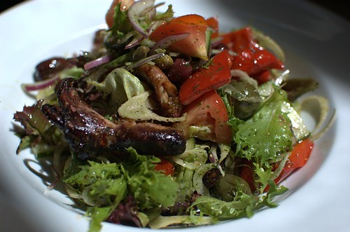 Chargrilled marinated octopus
