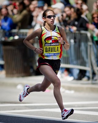 Desi Davila Maratón de Houston