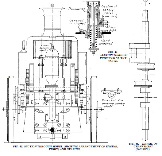 Model Steam Engine '1908 Fire Engine' Plans & Instructions