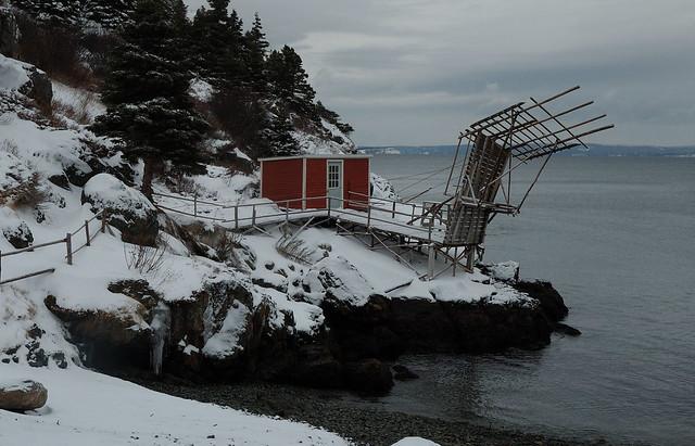 A very odd wharf