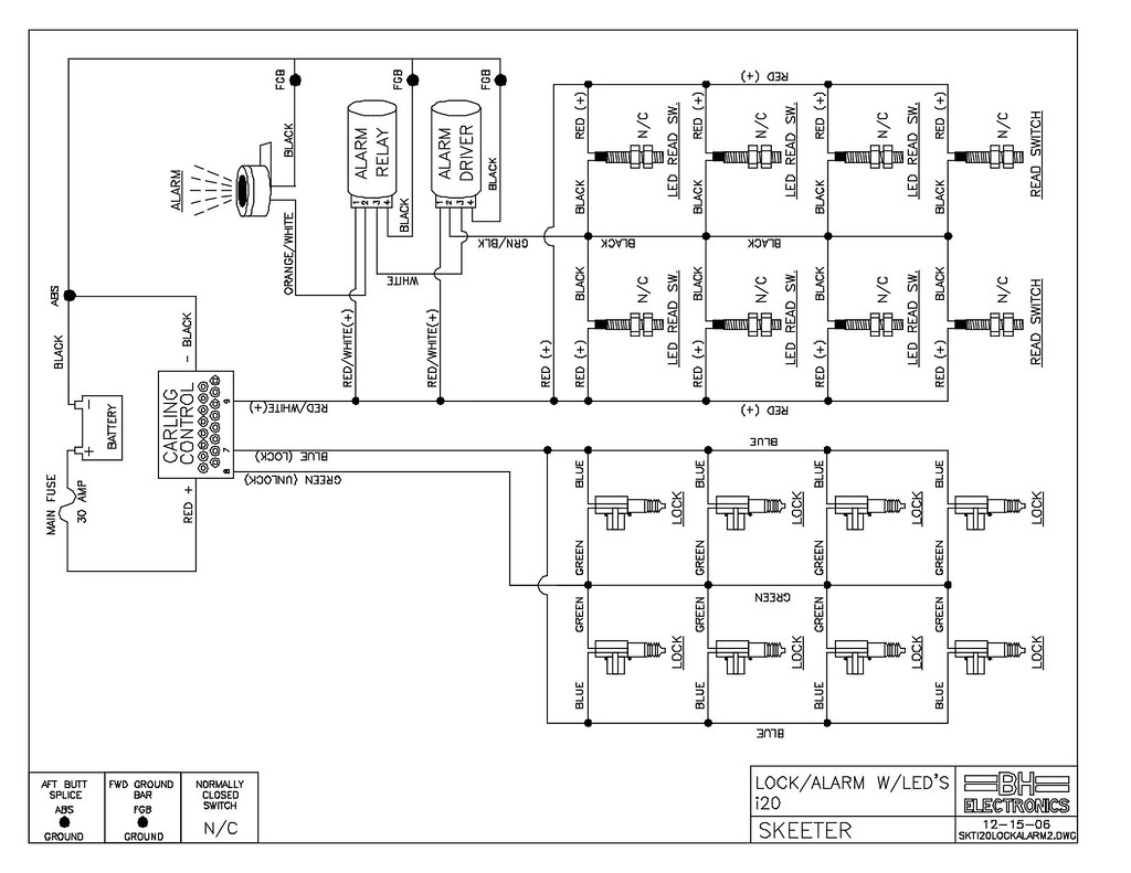 I-Series Wiring Diagrams & Schematics (I-Locks, Alarm, DMS