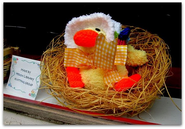 Easter Chick by Hedon Knit and Natter Group