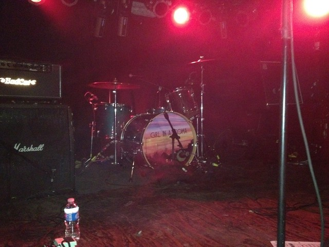 Phanie's drum set.