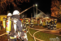 Großbrand Gaststätte Hattersheim 06.12.11