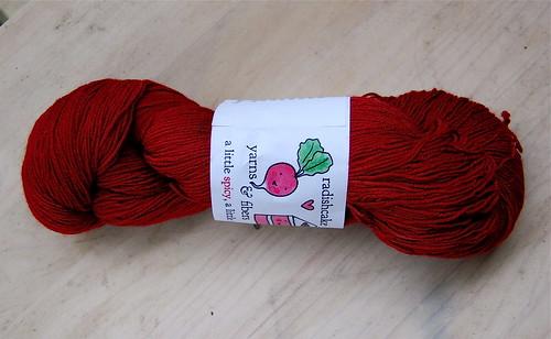 Radishcake yarn