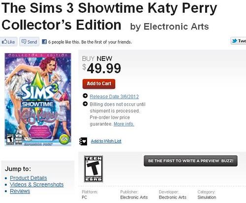 Pre-Order Katy Perry Edition via GameStop and Amazon UK