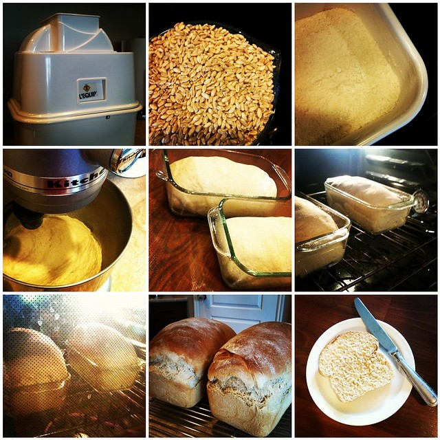 Baking Bread Mosaic