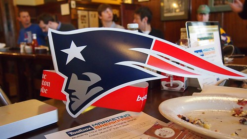 Go Patriots! at Boston Media Makers