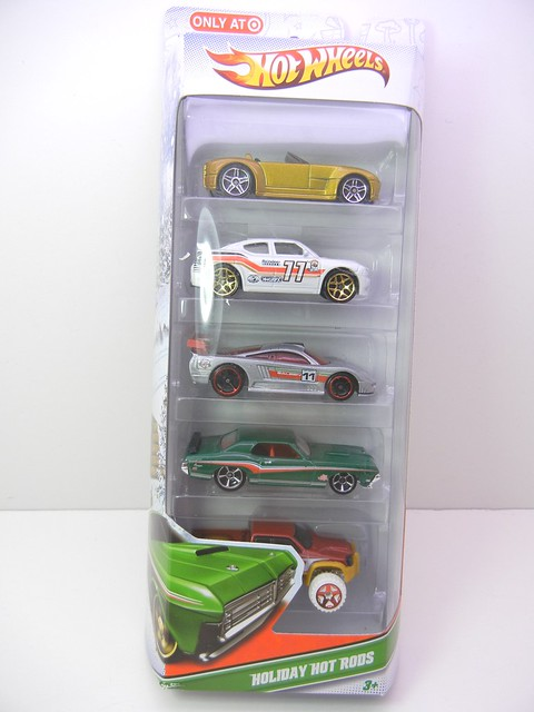 hot wheels 2011 christmas 5 pack (1)