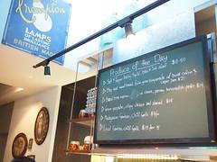 Blackboard menu Produce of the Day. Esquina Tapas Bar, Jiak Chuan, Keong Saik, Tanjong Pagar