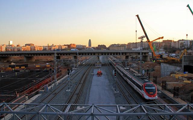 Pont del Treball - Vista general - 07-02-12