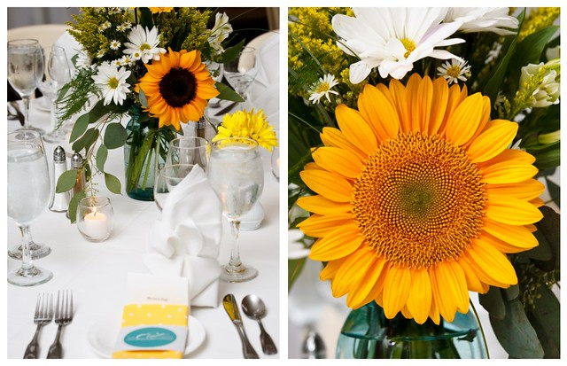 table setting collage