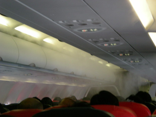 Air Asia cabin view