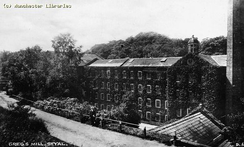 Quarry Bank Mill, 1890