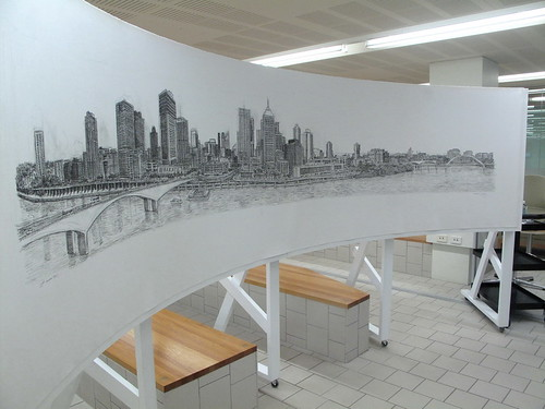 Brisbane by Stephen Wiltshire