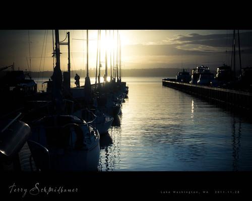 Kirkland Waterfront by Terry Schmidbauer