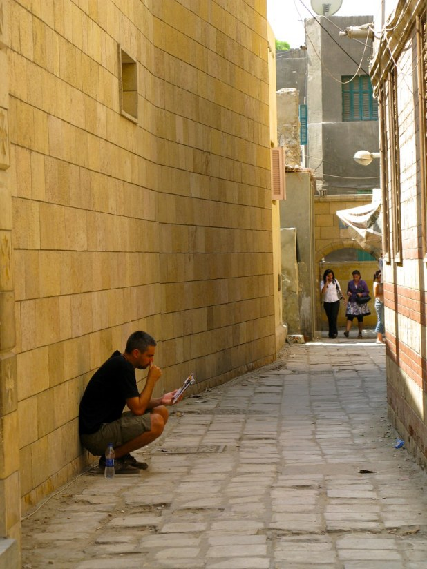 Barrio Copto en Cairo