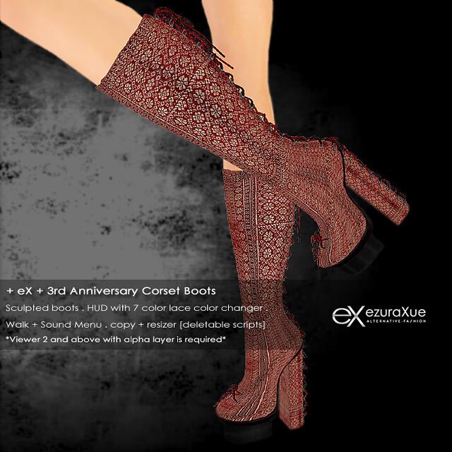 + eX + 3rd Anniversary VIP LB Gift *Boots