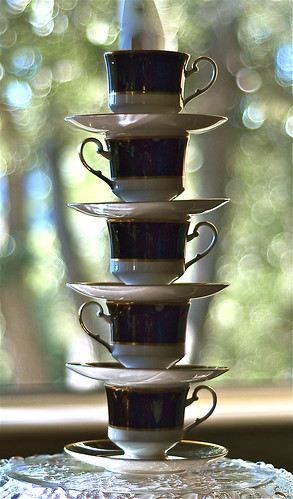 Balance of Cup and Bokeh by Shirley Buxton