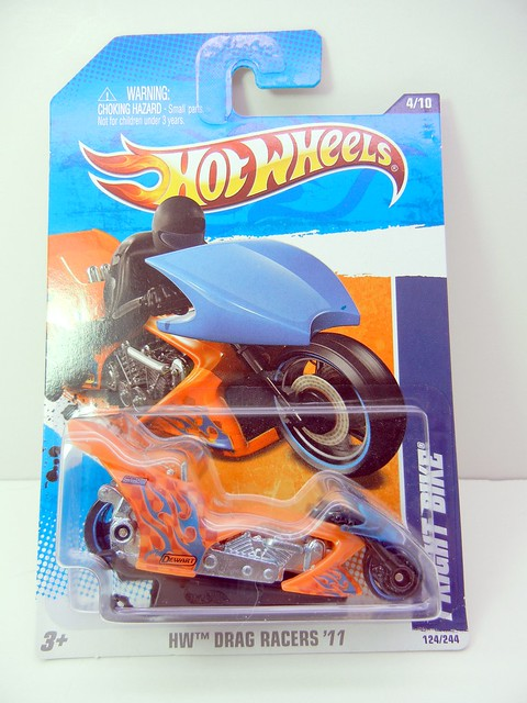 HOT WHEELS FRIGHT BIKE ORANGE (1)