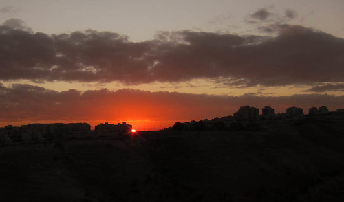 First sunrise of 2012