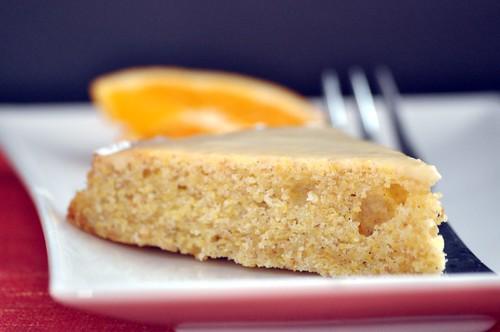 Citrus cake with cardamom