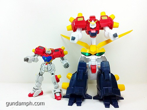 MSIA Devil Gundam First Form Unboxing Review Huge (44)