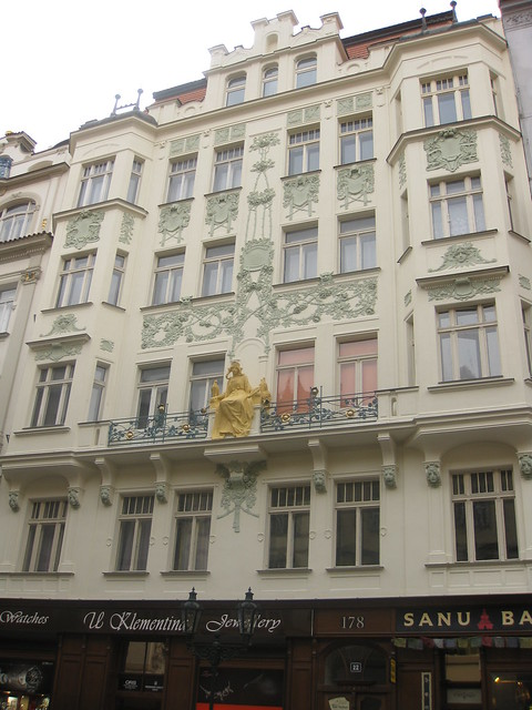 Facade in Prague